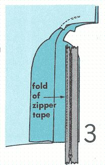 Learn to sew - zipper in pants; fly front with extended facings Sewing Pants, Sewing Clothes, Sewing Tutorials, Sewing Projects, Sewing Tips, Sewing Ideas, Sewing Stitches, Sewing Patterns, Free Sewing