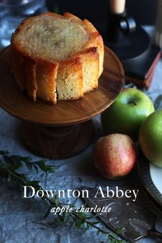 Downton Abbey: Apple Charlotte - Feast of Starlight Downton Abbey, Apple Charlotte, Charlotte Dessert, Charlotte Cake, Cooked Apples, English Food, English Recipes, English Dessert Recipes, Le Diner