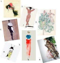 Runway Art: Fashion Illustrations