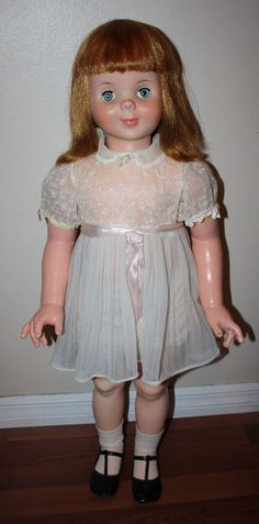 Very Rare American Character Linda McCall Playpal 1959 Betsy McCall's Cousin