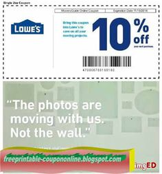 Lowes 10 Off Coupon Moving