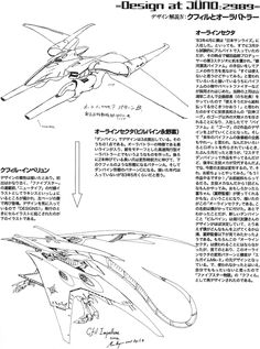 Mamoru Nagano's rejected designs for Gundam and Dunbine would eventually form the basis of the designs for the Mortar Headds of Five Star Stories. Translations under the cut. [[MORE]]Top Left...