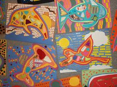 Arte en Becker Escuela Intermedia: Collage