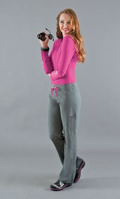 NEW! Smitten's AMP Flare Pant in HEATHER GREY! #smitten #scrubs #medical #fashion #uniforms #health #healthcare #hospital #doctor #nurse #nursing #school #student #dental #hygiene #vet #tech #rn #lpn #cna #fall #heather #grey #print
