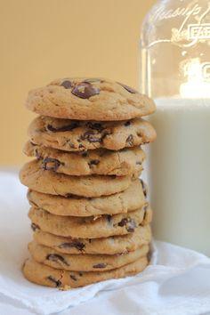 Pumpkin Peanut Butter Chocolate Chip Cookies by Hip Foodie Mom #pumpkinchocolatechip #OXOGoodCookies #pumpkin