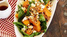 Australian House and Garden recipe for pumpkin salad with marinated fetta.