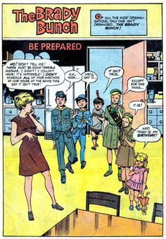 Two great things that go great together. Comics AND the Brady Bunch