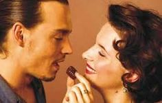 "From The 2000 film ""Chocolat"" actor Johnny Depp and Juliette Binoche"