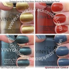 CND's Vinylux Craft Couture collection