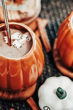 Here's a kid-friendly pumpkin spice recipe that mixes the fall favorite with chocolate milk, another ingredient loved by kids. Pumpkin Recipes, Fall Recipes, Holiday Recipes, Drink Recipes, Coffee Recipes, Hot Chocolate Recipes, Gluten Free Chocolate, Moon Milk Recipe, Yummy Drinks