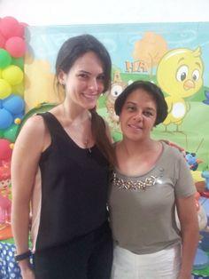 Fernanda Souza veste Blusa Aruba , Marilene Guilmer veste Blusa Madrid
