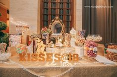 Table Decorations, Birthday, Kisses, 18th, Home Decor, Birthdays, Decoration Home, Blowing Kisses, Room Decor