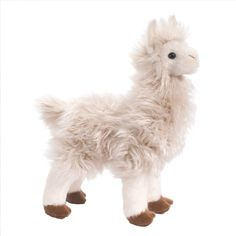Francois the Plush White Llama by Douglas