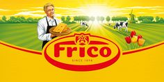 Frico cheese designed by Osborne Pike (read on)
