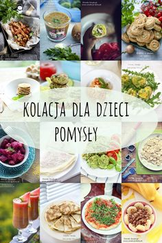 kolacja  dla  dzieci Cooking Tuna Steaks, Cooking Ham, Baby Food Recipes, Healthy Recipes, Good Food, Yummy Food, Love Eat, Health Eating, Healthy Snacks For Kids