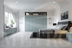 Modern bespoke fitted wardrobes to bedrooms & kitchens, we provide cheap custom fitted furniture in London UK at our designer furniture Showroom. Call Us! Fitted Bedroom Furniture, Fitted Bedrooms, Furniture Showroom, Furniture Design, Clean Bedroom, Fitted Wardrobes, Bedroom Wardrobe, Closet Designs, Bespoke