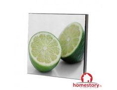 Κάδρο κουζίνας λακαριστό 30εκ. Lime, Fruit, Limes, Key Lime