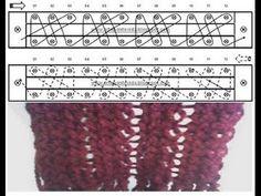 Loom Knitting - Snail Stitch