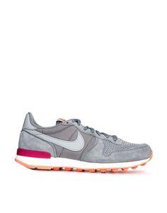 Shop Nike Internationalist Grey Trainers at ASOS. 4b1057230
