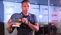 Nathaniel Clyne crowned FIFA 16 champion after beating Rio Ferdinand at the UK Launch party http://dailym.ai/1KIq2jq