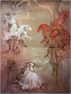"""White Knight - Red Knight"" dans ""Alice's Aventures in Wonderland"" de Lewis Carroll"