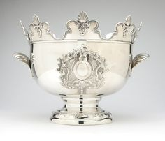 An Italian sterling silver wine cooler, Messulam (post 1968)