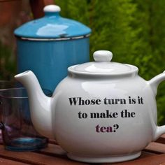 I'm getting a bit addicted to teapots.  Love this one!