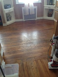 Hometalk :: Making Old Floors Look Good Until You Can Afford New Ones!