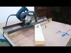 circular saw track for cutting - YouTube