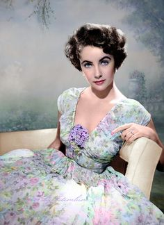 "Elizabeth Taylor - not a Southerner by birth but roles in ""Raintree County"", ""Giant"" and ""Cat on a Hot Tin Roof"" all qualify her as a Belle."