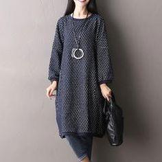 Cotton Stretch Print Dress