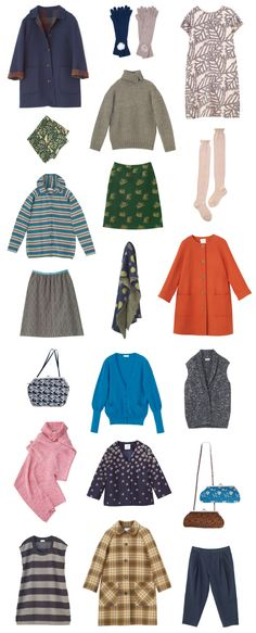 2012–2013 Autumn & Winter Collection - Pick Up  Sally Scott