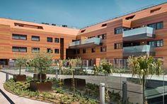 Sistema redair en las fachadas de complejo Aravaca #aislamientotérmico