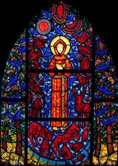 Beuzeville - Saint-Helier - Saint Francis Window by Stan Parry, via Flickr