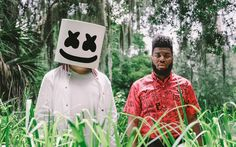 Download imagens 4k, Marshmello, Khalid, concerto, superstars, house progressivo
