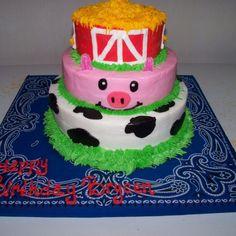 Kid's birthday party cake.