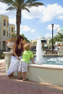 Shop, dine or just unwind on Main Street in Lakewood Ranch.