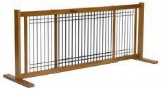 Freestanding Amish Craftsman Dog Gate