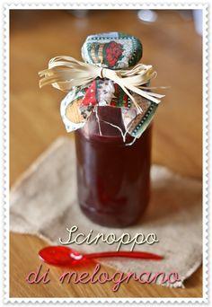 Sciroppo melograno - Pomegranate syrup