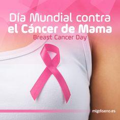 Día mundial contra el cáncer de mama. Nuestro apoyo a todas las mujeres que luchan cada día #DíaContraelCáncerdeMama