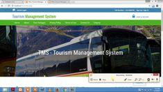 Tourism Management System (Free Download)