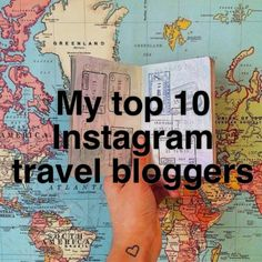 Top 10 Instagram travel bloggers