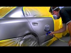 How to Paint Your Car Yourself - Auto Body Repair (part 2 of 2) - YouTube