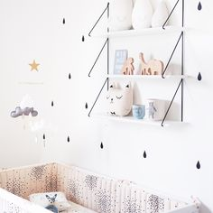 Sweet, Stylish Baby Boy Nursery - Petit & Small