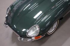 Jaguar E type Series 1 3.8 Coupé, British Racing Green, Concours winner