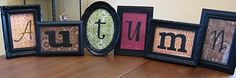 Great to display Scentsy name.  Just as cute as the blocks but much cheaper.