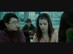 Twilight L'entré des Cullen dans la Cafétéria