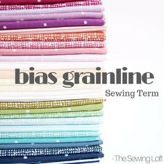 Understanding the difference between straight and bias grainline can make all the difference in your next sewing project. Learn the basics.