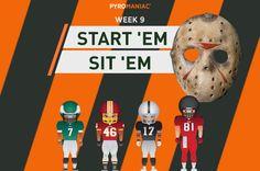 Start 'Em & Sit 'Em for Week 9 Ems, Content, People, Movie Posters, Film Poster, People Illustration, Billboard, Film Posters, Folk