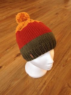 Rebranded beanie with wooden tag from my Etsy shop https://www.etsy.com/uk/listing/276497500/hand-knitted-chunky-colour-block-beanie